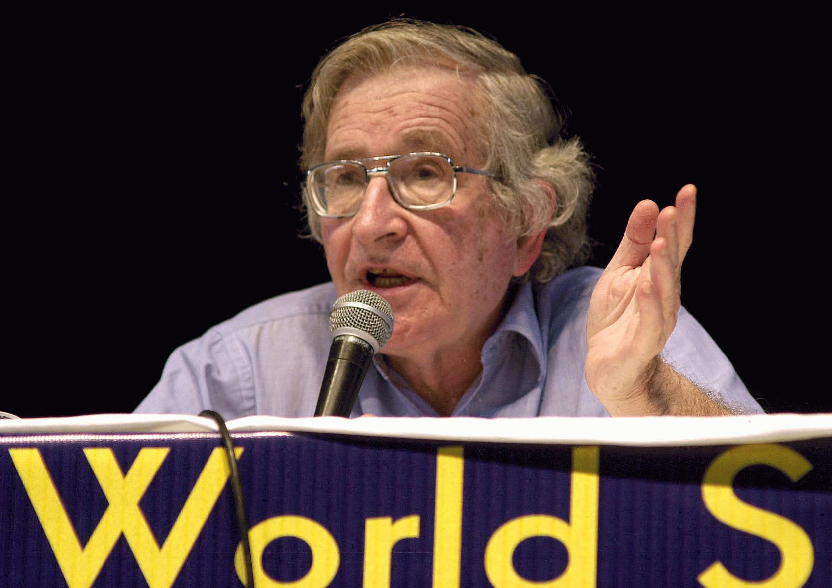 Chomsky at the World Social Forum (Porto Alegr...
