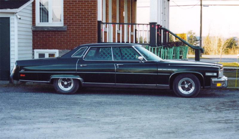 1976 Buick Park Avenue Interior