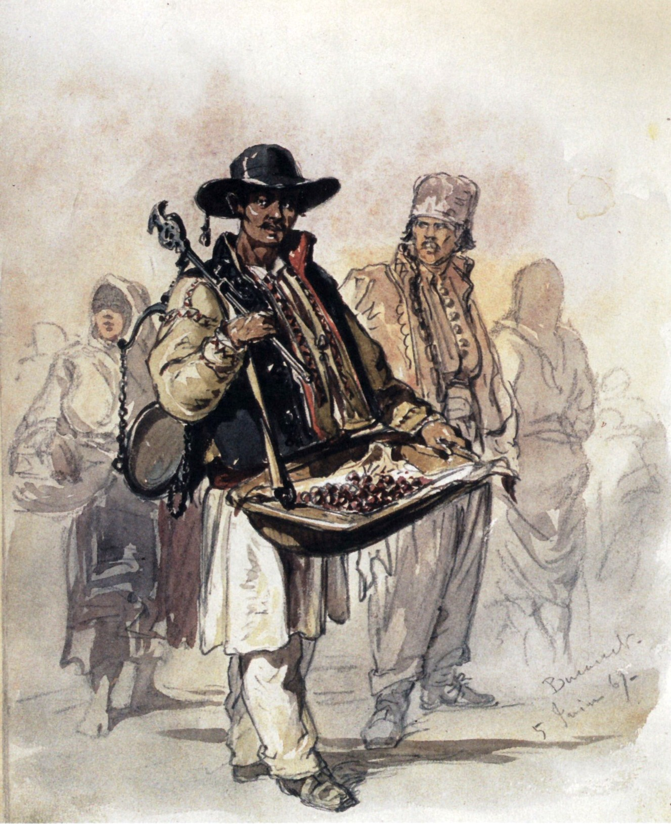 image of a peddler