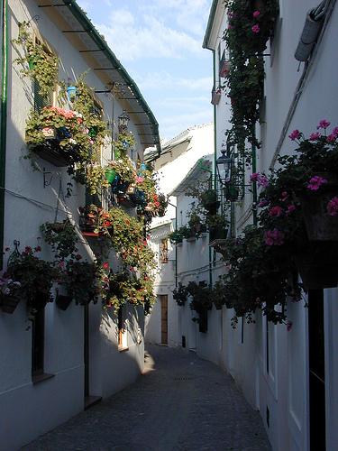 Vista de la Calle Real, Barrio de la Villa, Priego de Cördoba