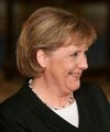 German Chancellor Angela Merkel at the White H...
