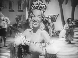 English: Carmen Miranda performes the song &qu...