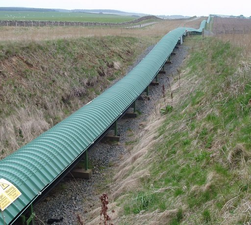 Conveyor belt - geograph.org.uk - 156891