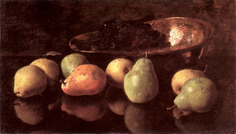 File:Otto Scholderer Stilleben mit Birnen und Trauben in Kupferschale.jpg