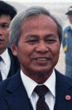 Prime Minister Prem Tinsulanonda of Thailand p...