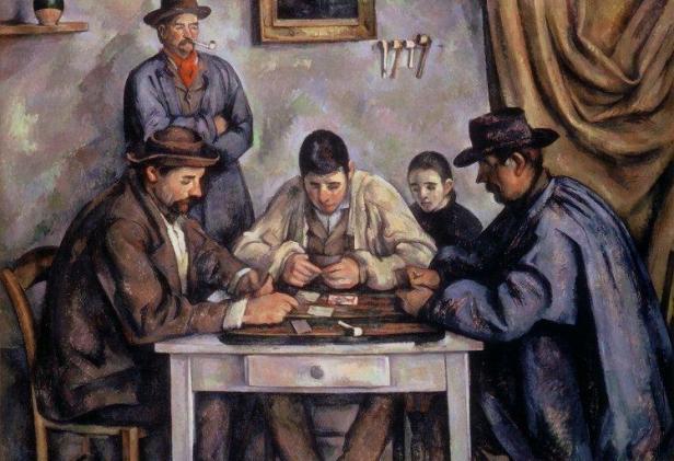 Cezanne The Card Players Barnes