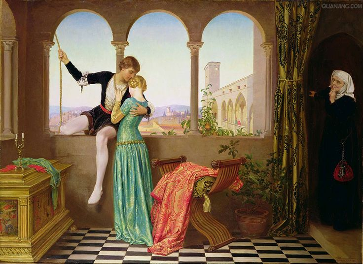 File:E. Fortescue-Brickdale -- Romeo and Juliet Farewell.jpg