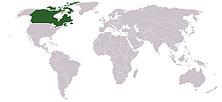 Lokasi Kanada