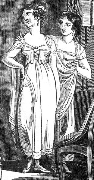 Short Stays - Women's Regency Fashion & Dress - Philippa Jane Keyworth - Regency Romance Author