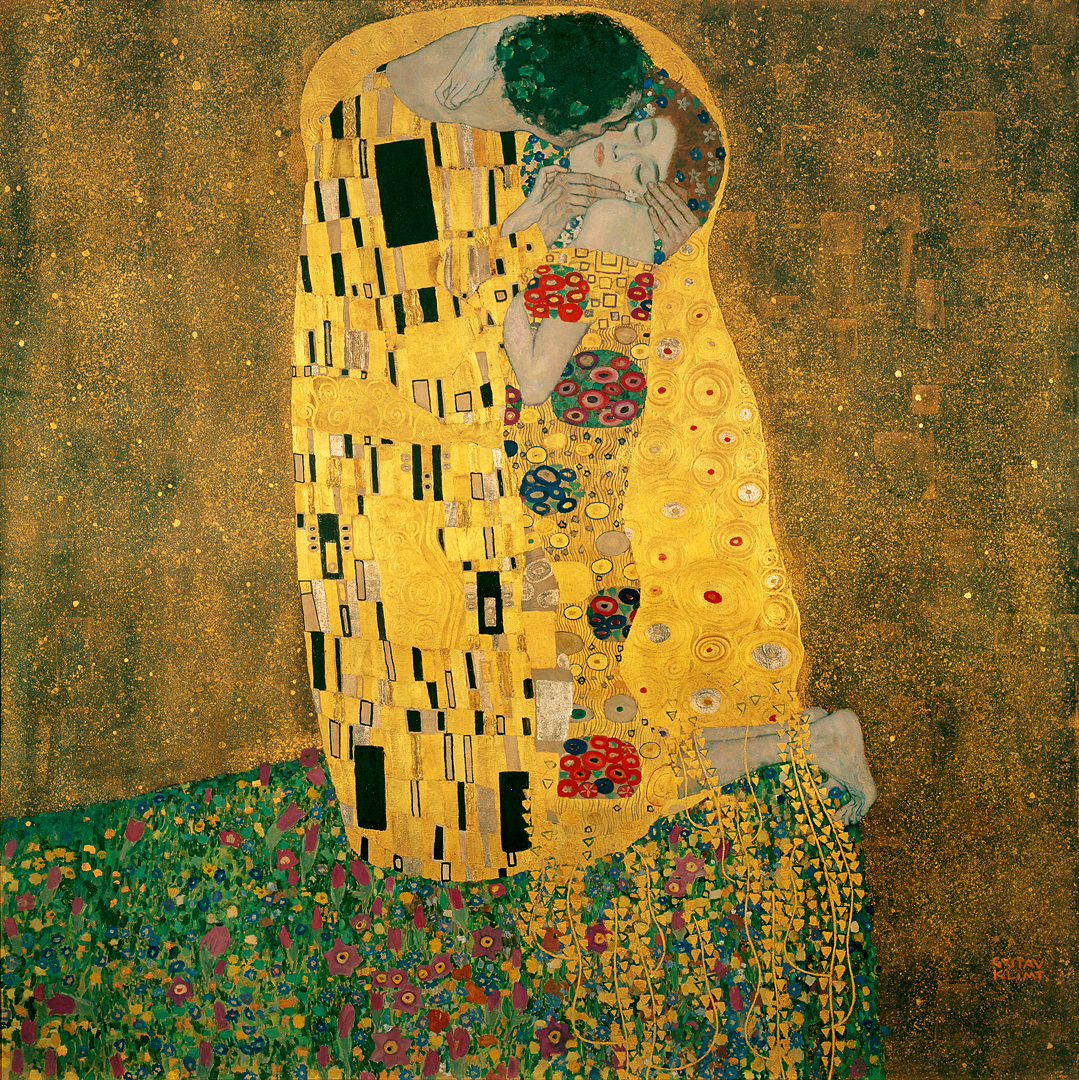Gustav Klimts The Kiss