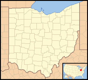 Use with En:Template:Location map USA Ohio