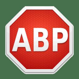 English: The new logo of Adblock Plus (an ad b...