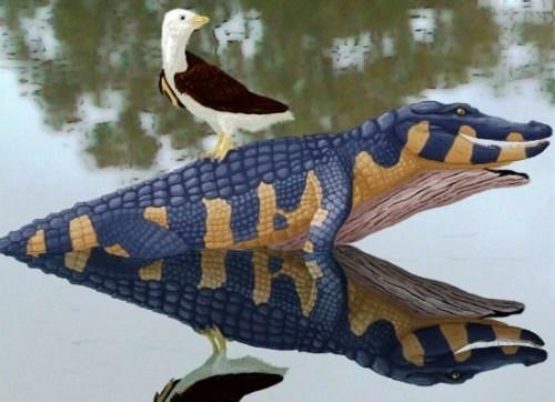 Avisaurus and Brachychampsa by tomozsaurus.jpg