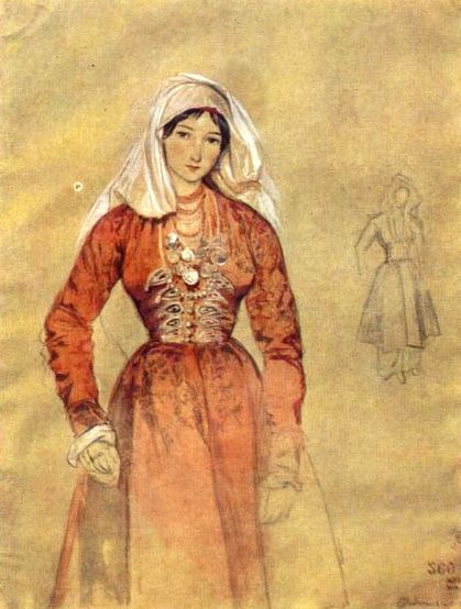 File:Grigory Gagarin. Portrait of Cossacks Women.jpg