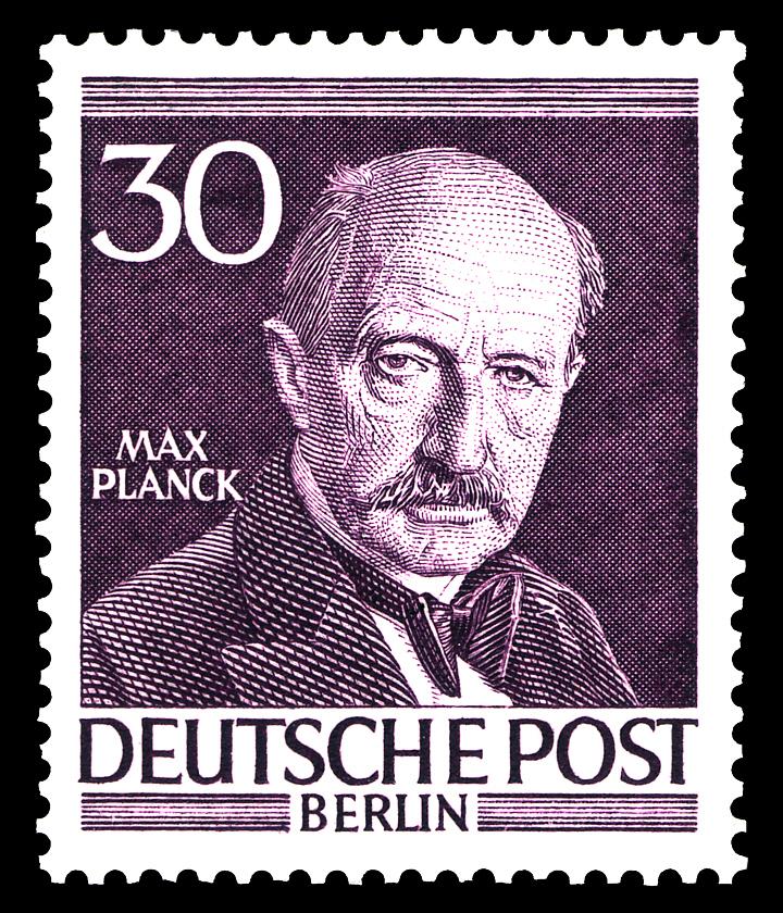 Resultado de imagen de Max Planck fue reconocido por sus méritos