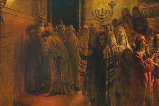 "The Judgment of the Sanhedrin: ""He is Guilty!"""