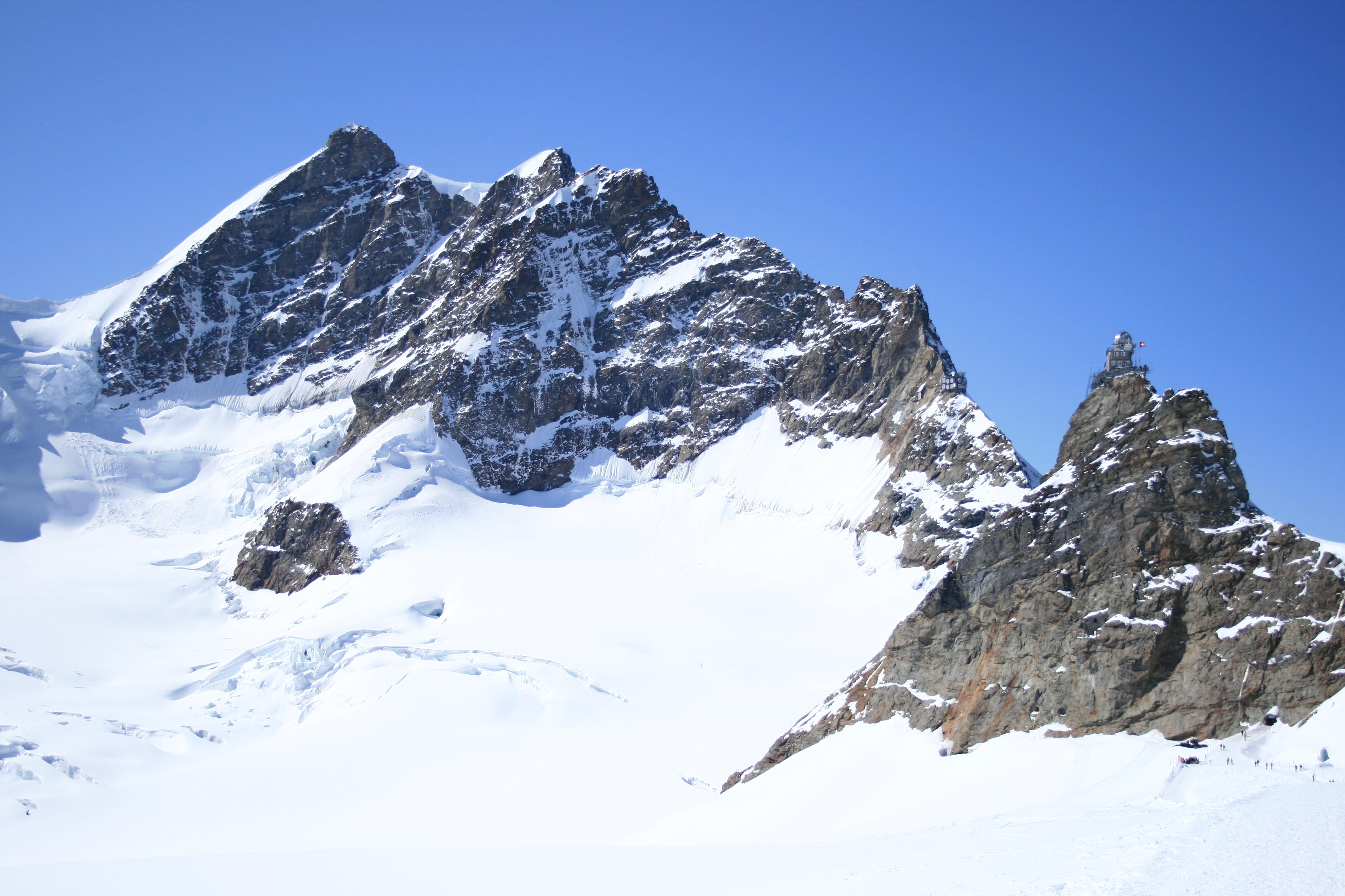Jungfrau, parete est