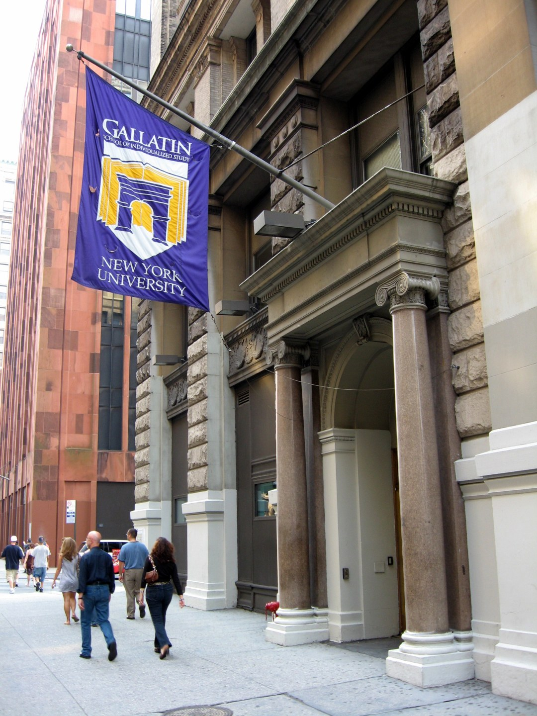 The entrance to the Gallatin School of Individ...