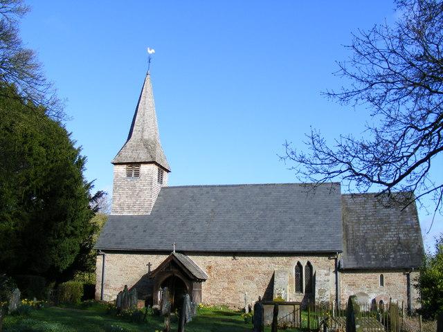 St Andrew's Church In Ashford Bowdler.