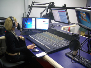 Studio de la 1Ere web radio de france