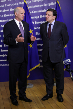 Prime Minister George Papandreou and European ...