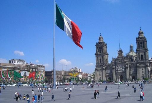 Plaza de la Constitucion Ciudad de Mexico City