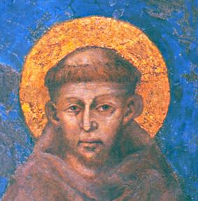 San Francesco - affresco di Cimabue
