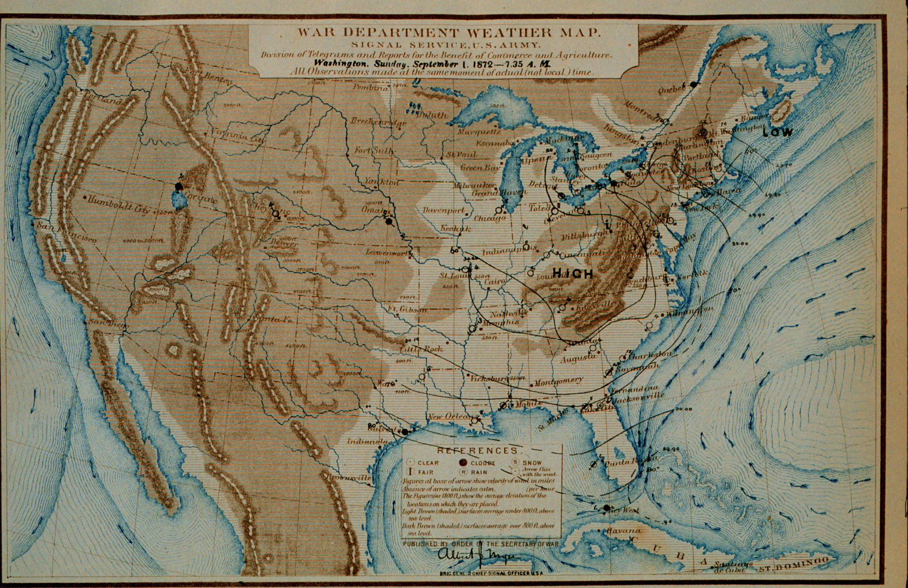 File US Weather map from 1872 jpg   Wikimedia Commons File US Weather map from 1872 jpg