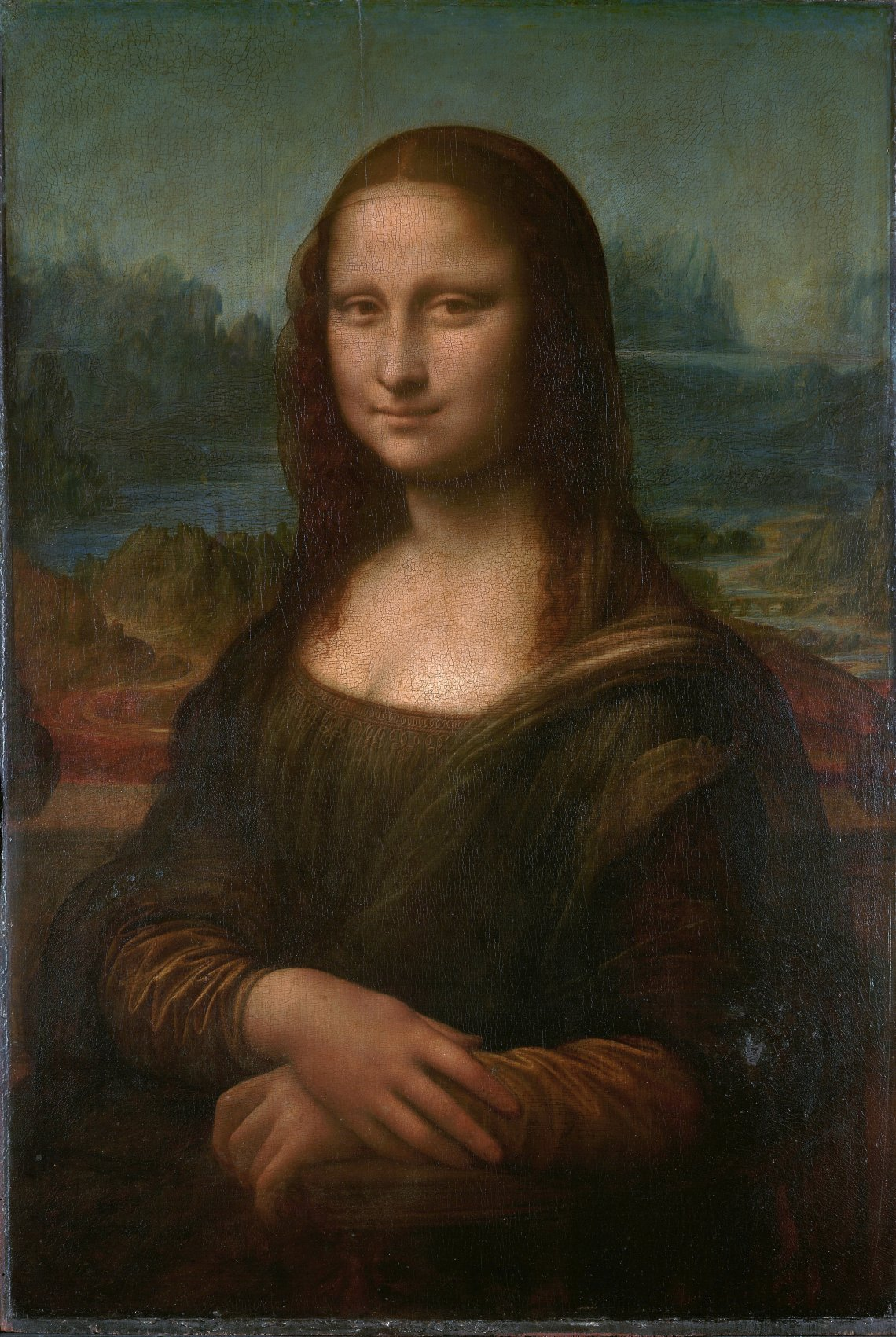Mona Lisa%2C by Leonardo da Vinci%2C from C2RMF natural color Kanye Fashion