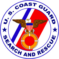 English: Search and Rescue Program Logo of the...