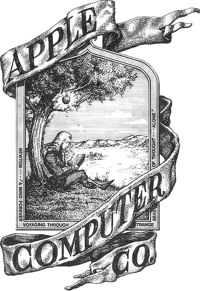 Apple first logo | GrecTech