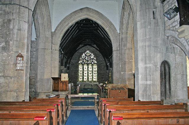 File:Church Fenton, Interior of the Church of St Mary the Virgin
