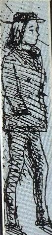 Drawing of Arthur Rimbaud by Paul Verlain Fran...