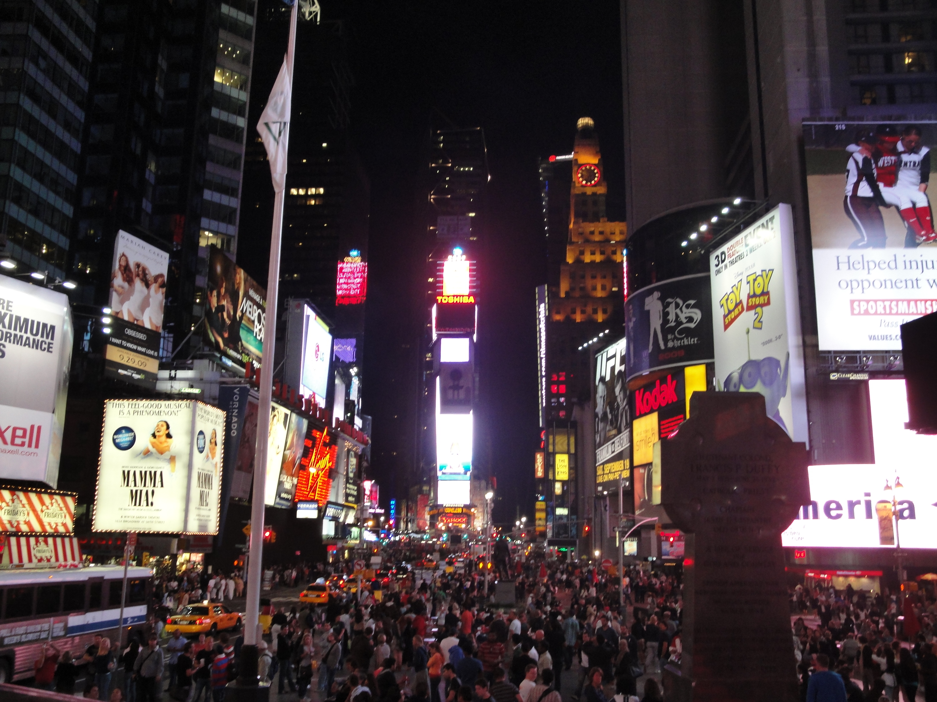 Nyc Times Square At Night