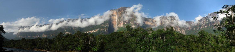 世界一の滝 エンジェルフォール Angel Falls 地球最後の秘境
