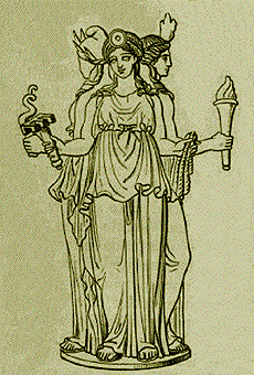 Hecate, illustration by Stéphane Mallarmé, in ...