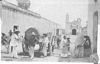México-Iztacalco escena callejera