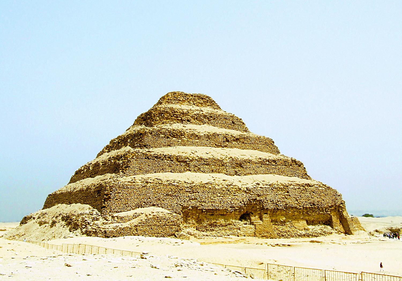 Pyramid at Sakkara