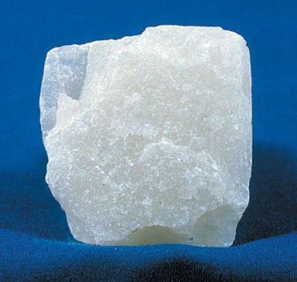 A block of talc.