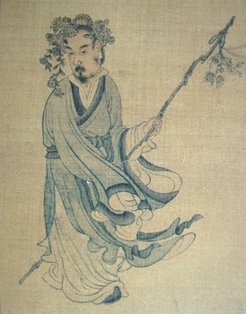 Portrait of Tao Qian, by Chen Hongshou (1599-1652)
