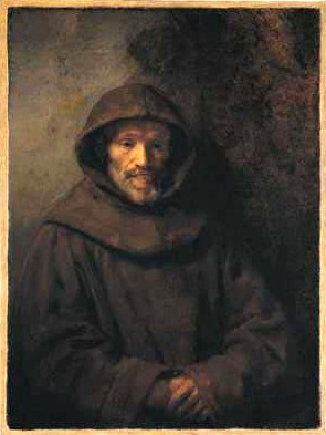 A Franciscan Friar, Rembrandt, 17th century oi...