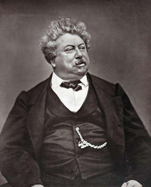 Portrait de Dumas par Etienne Carjat