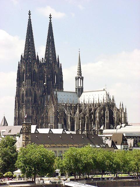 圖片來源 Image source:維基百科 Wikipedia - 科隆主教座堂
