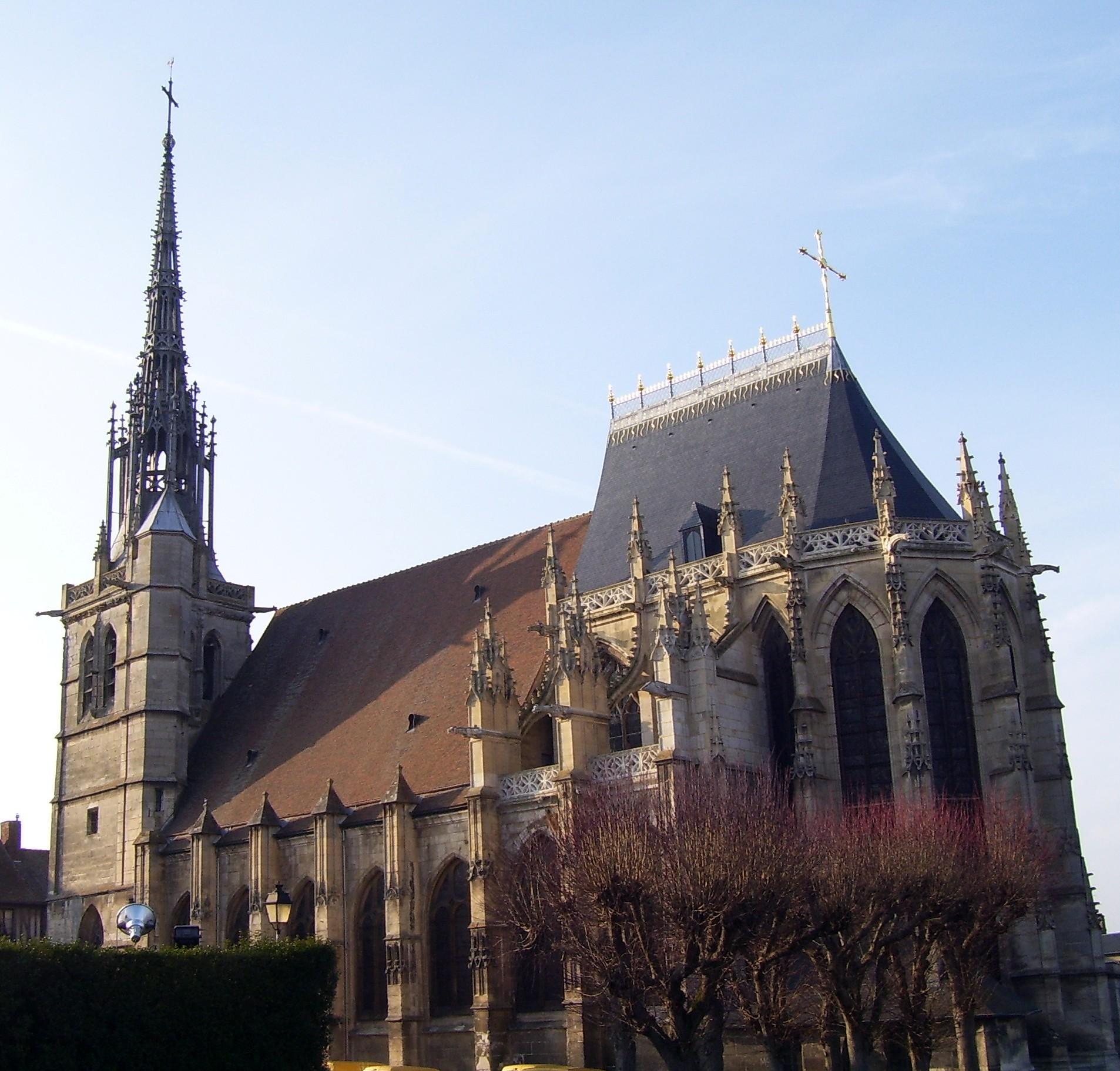 Kirche Sainte-Foy, eigenes Foto, Lizenz: CC by