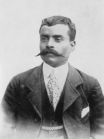 General Emiliano Zapata in 1914