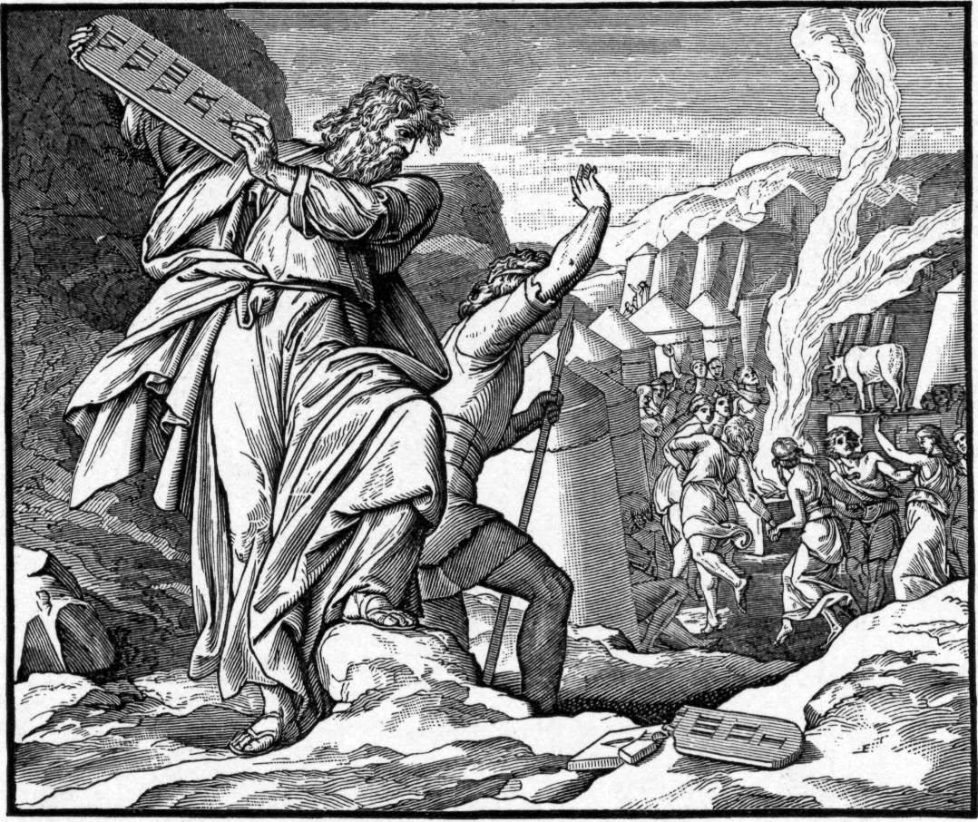 Atheist Insurgency What Else Moses Brought Down From The