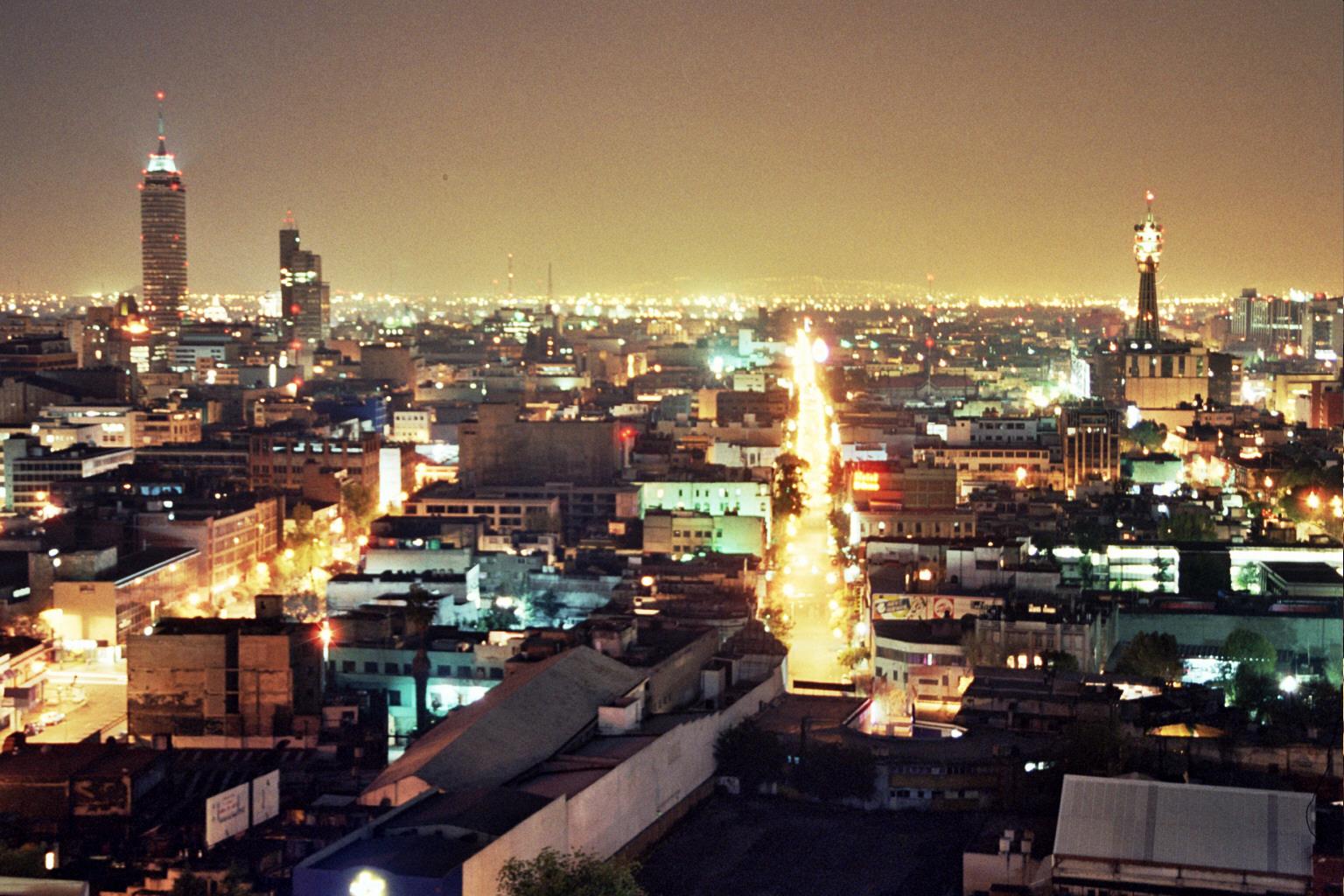 Ciudad de Mexico de noche