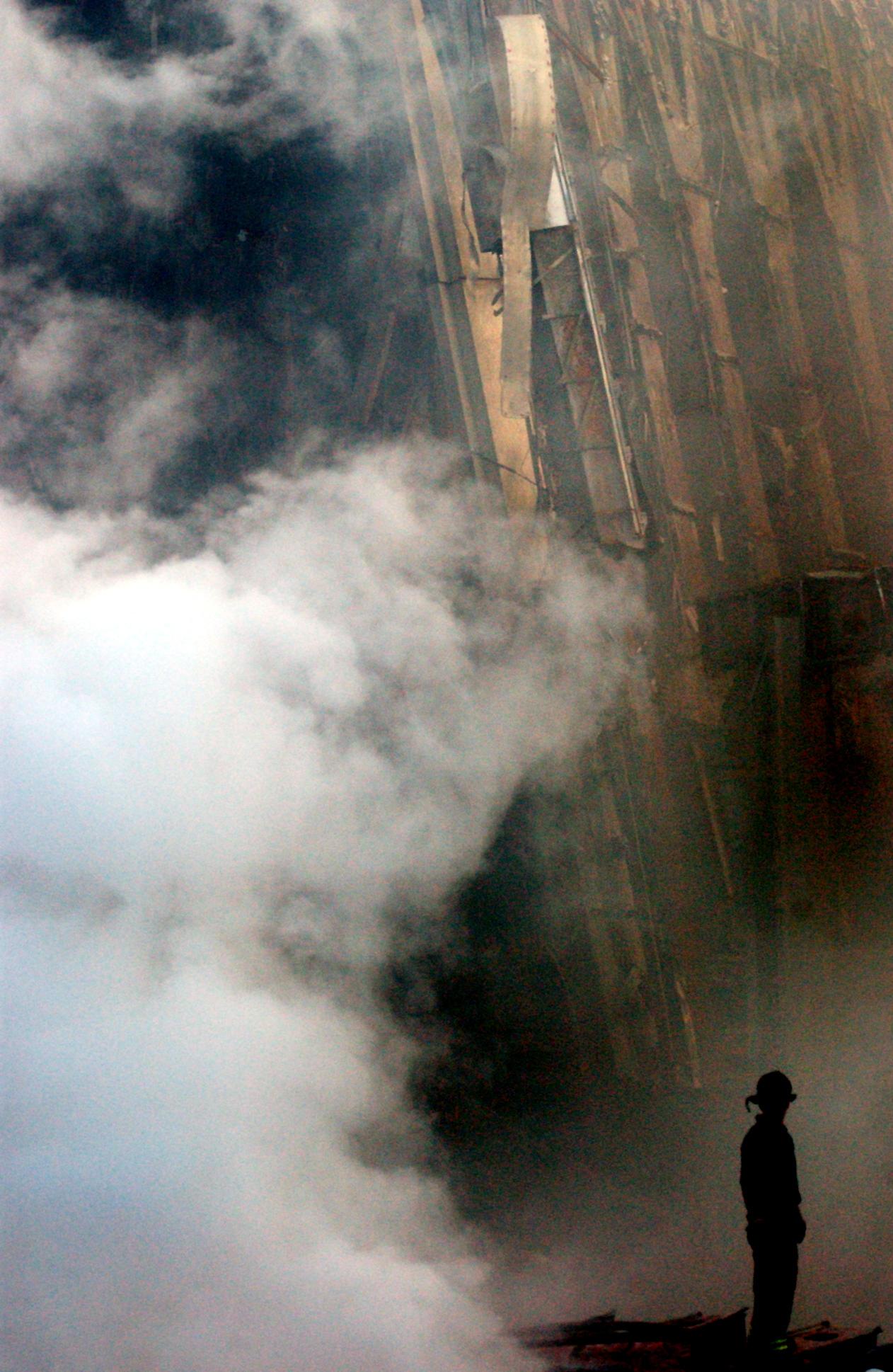 Ground 0 - Lone Firefighter