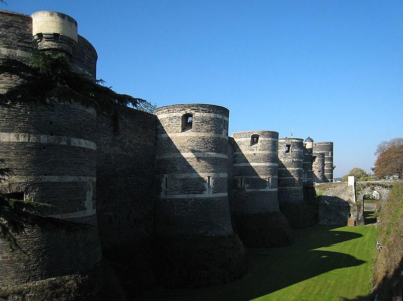 Angers Castle Loire Valley 2007