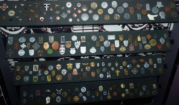 Auckland War Memorial Museum - Nazi Germany Badges